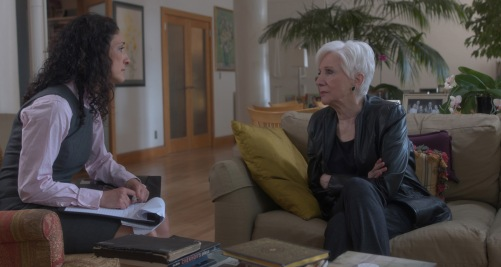 Olympia Dukakis and Anthoula Katsimatides in Eleftheromania